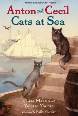 Anton and Cecil Cats at Sea