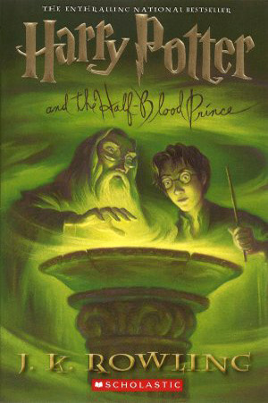 half-blood prince cover