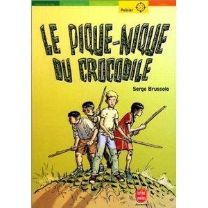 Le Pique-nique du crocodile  by  Serge Brussolo