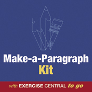 Makeaparagraph Kit  by  Anthony M. Bedford