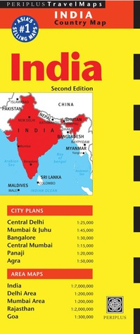 India Travel Map  by  Periplus Editors