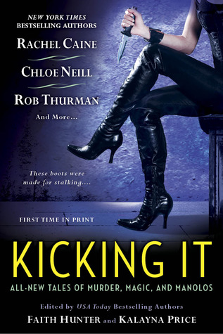 Book Review: Faith Hunter's Kicking It
