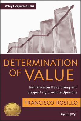 Determination of Value: Appraisal Guidance on Developing and Supporting a Credible Opinion F. Rosillo
