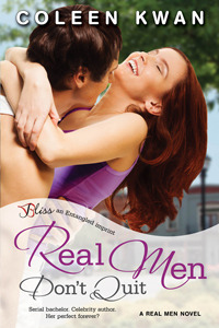{Review} Real Men Don't Quit by Coleen Kwan