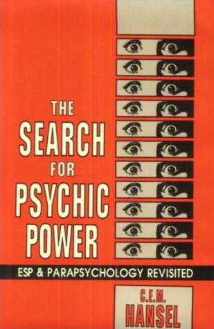 The Search for Psychic Power  by  Charles Edward Mark Hansel