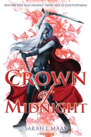 Crown of Midnight by Sarah J. Maas book cover