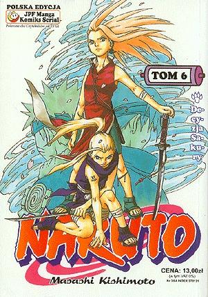 Naruto, tom 6: Decyzja Sakury (Naruto, #6) Masashi Kishimoto