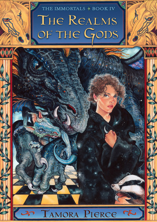 Book Review: Tamora Pierce's Realms of the Gods