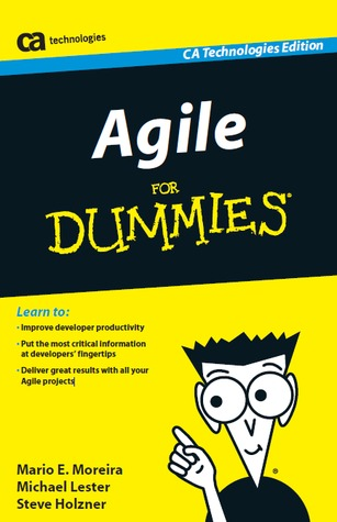Agile For Dummies. Book cover.