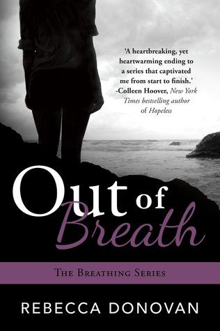 Out of Breath by Rebecca Donovan book cover