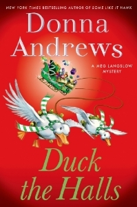 Book Review: Donna Andrews' Duck the Halls