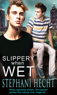 Slippery When Wet (Unconventional in Atlanta, #5) Stephani Hecht