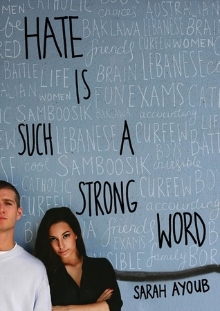 hate is such a strong word sarah ayoub book cover