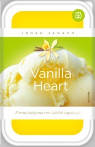 The Vanilla Heart oleh Indah Hanaco