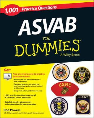 1001 ASVAB Practice Questions for Dummies Rod Powers