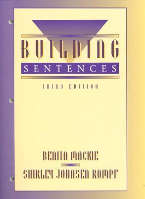 Building Sentences  by  Benita Mackie