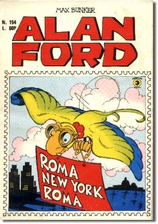Alan Ford n. 154: Roma-New York-Roma Max Bunker