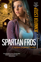 Spartan Frost Mythos Academy series Jennifer Estep epub download and pdf download