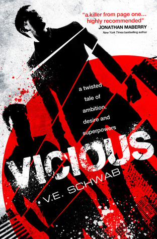 Review: 4 stars to Vicious by V.E. Schwab #Adult #Superpowers