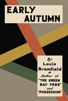 Early Autumn: A Story of a Lady  by  Louis Bromfield