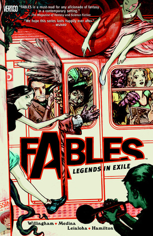 Review: Fables, Vol. 1: Legends in Exile by Bill Willingham (@jessicadhaluska, @BillWillingham, @vertigo_comics)