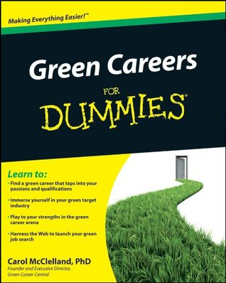 Green Careers For Dummies  by  Carol L. McClelland
