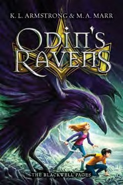 Review: Odin's Ravens by K.L. Armstrong and M.A. Marr
