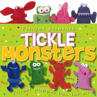Tickle Monsters Finger Puppet Book (Finger Puppet Books) Joanna Bicknell