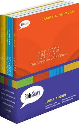 Bible Savvy Set of 4 Books James L Nicodem
