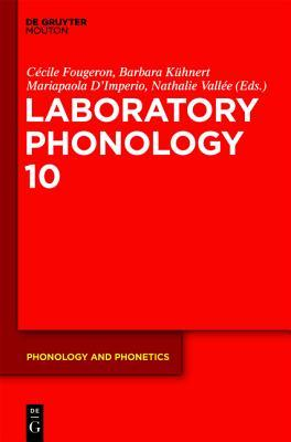Laboratory Phonology 10  by  Cécile Fougeron