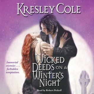 Audiobook Review: Wicked Deeds on a Winter's Night by Kresley Cole