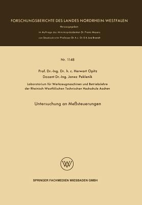 Untersuchung an Messsteuerungen Herwart Opitz