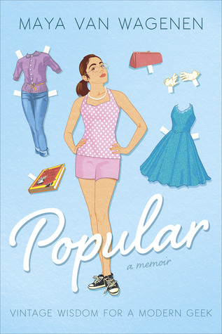 cover of Popular - cartoon drawing of girl and outfits like paper doll