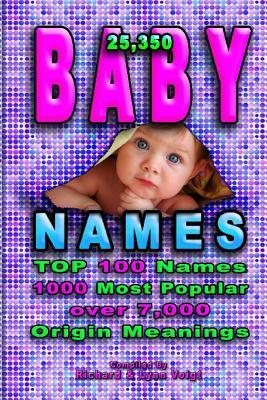 Baby Names: 25,350 Baby Names & Nicknames for Your Family Friends & Pets  by  Richard Voigt