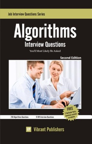 Algorithms Interview Questions Youll Most Likely Be Asked Vibrant Publishers