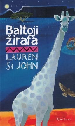 baltoji žirafa