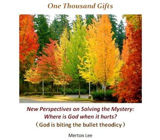 One Thousand Gifts : Solving The Mystery Where Is God When It Hurts Merton Lee