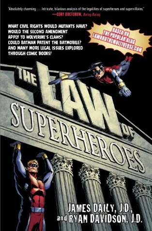 The Law of Superheroes - James Daily, Ryan Davidson