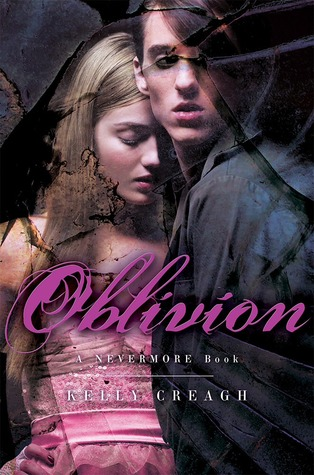 Oblivion by Kelly Creagh book cover