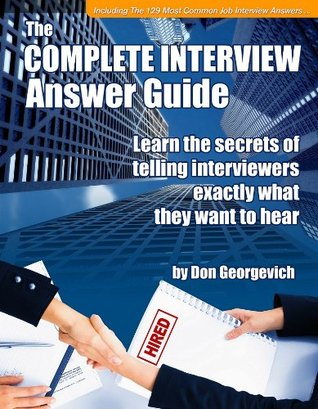 Complete Interview Answer Guide Don Georgevich