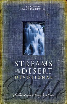 NIV Streams in the Desert Bible by L B E Cowman