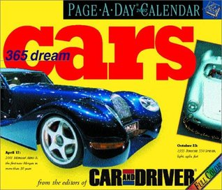 365 Dream Cars Page-A-Day Calendar 2002 Editors of Car and Driver