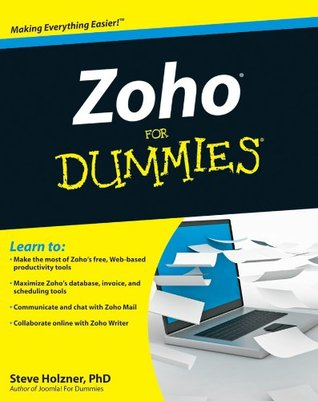 Zoho For Dummies  by  Steven Holzner