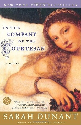 In the Company of Courtesan by Sarah Dunant | Books featuring Venice | The 1000th Voice Blog