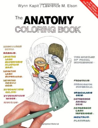 anatomy coloring book 6th edition the anatomy coloring book by wynn kapit reviews