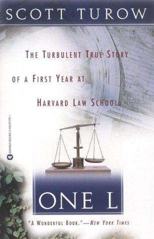 Bibliophilia read more books One L: The Turbulent True Story of a First Year at Harvard Law School