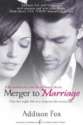 {Review} Merger to Marriage by Addison Fox