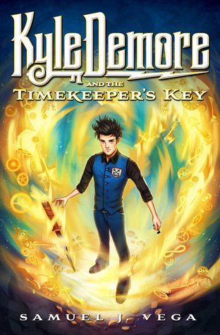 Kyle Demore and the Timekeeper's Key (Kyle Demore #1)