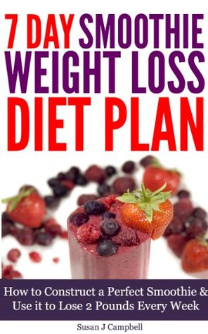 7 day smoothie weight loss diet plan  how to construct a