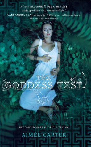 The Goddess Test aimee carter book cover